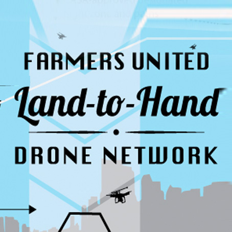 Land To Hand Drone Network—a Speculative Futures Concept