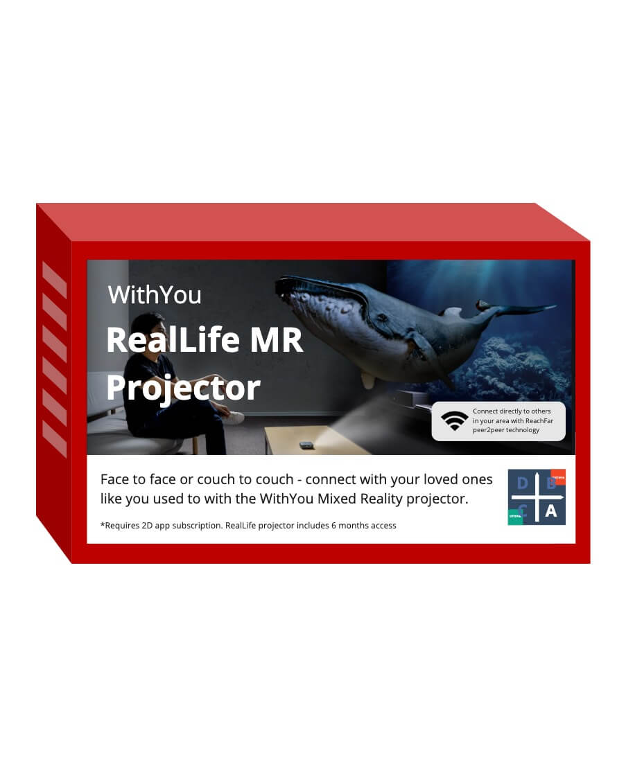RealLife Mixed Reality Projector